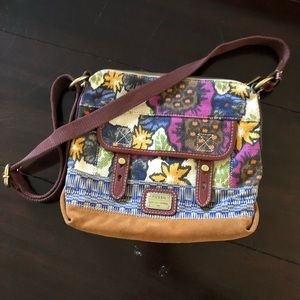 Bight and Fun! Fossil shoulder bag